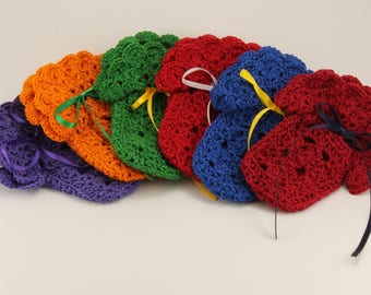 Baby Booties, Infant Slippers, Crib Shoes, Size 0-3 Months, Multiple Colors, Hand Crocheted, Baby Shower Gift, Footies