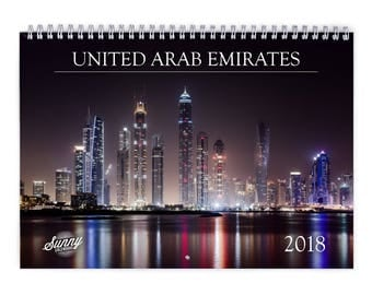 United Arab Emirates 2018 Wall Calendar