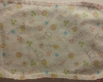 Flannel Burp Cloth, Baby Burp Cloth, Baby Shower Gift, Gifts Under 10