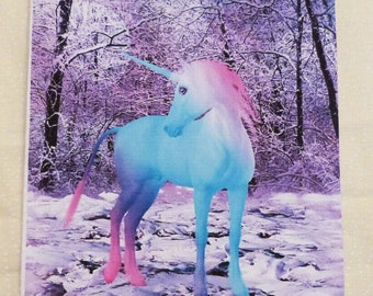 Handmade Greeting Card, Unicorn All Occasion Greeting Card, Birthday, Friend, Just to say hello, Girls Greeting Card, Made in the USA, #17