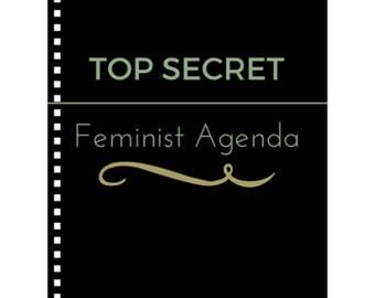 Feminist Agenda - Feminist Notebook Journal