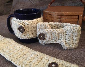 Crochet Coffee Mug Cozies