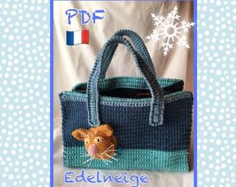 Tutorial, large bag of Ten city ' kei, pattern, crochet
