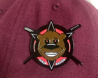 Bear Grillz x Datsik Pin