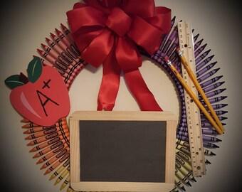 Teacher's A+ Wreath