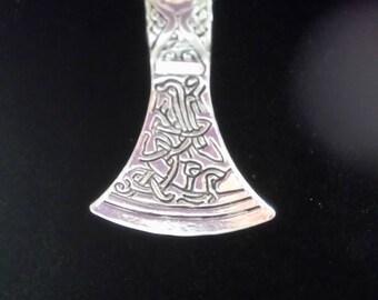 Norse Axe Head neklace
