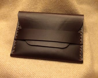 Leather Minimalist Traveler's Wallet