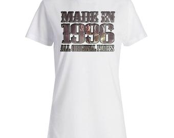 Made New Original Parts 1996 Ladies T-shirt s109f