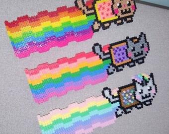 Perler Bead Art - Nyan Cat