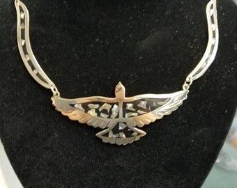 Vintage Alpaca Mexico Necklace