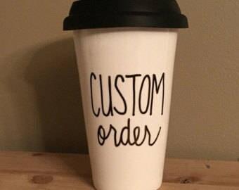 Customized Travel Mugs