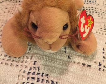 TY 1996 Roary the lion beaie baby