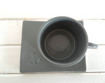 The grey espresso set