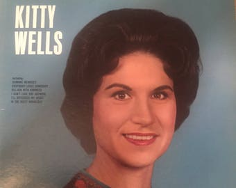 Kitty Wells-Burning Memories-1965-Vinyl Record Album LP