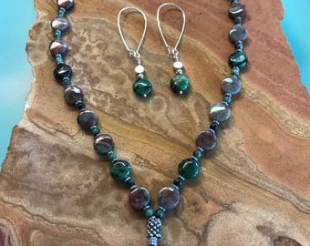 Ruby Zoisite 18 in necklace