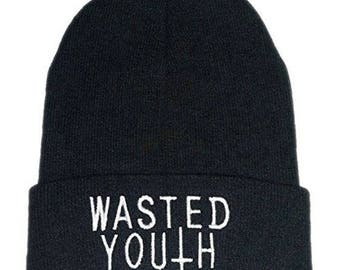 Waste youth beanie