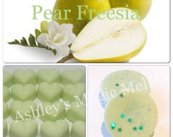 3 pear freesia jo malone soy wax melts, strong scented melts, cheap wax melts, designer dupe melts, wholesale wax melts