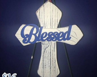 Blessed Cross Wall Hanging