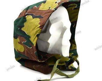 Original Belgian army congo hood Military field jacket cold weather hood new