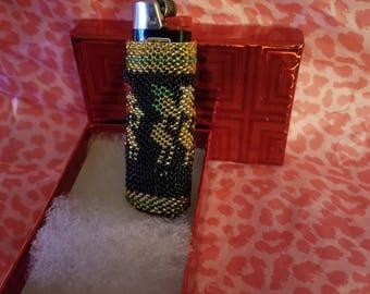 Kokapelli Bic Lighter Cover