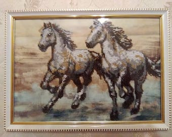 """Painting """"Horses"""""""