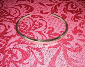 Vintage silver cuff bracelet made by celebraty