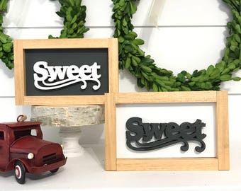 Mini Sweet Sign