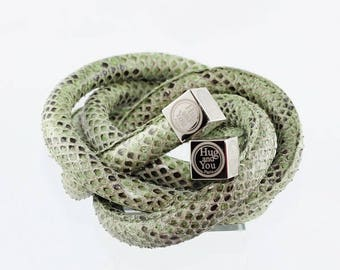 Ceinture femme snake python