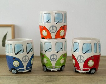 VW Hippie Bus Coffee Mug