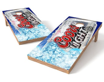 Coors Light Corn Hole Boards