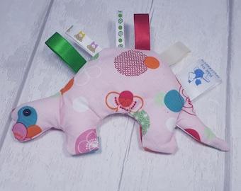 Taggiesaurus Taggie toy for newborn baby