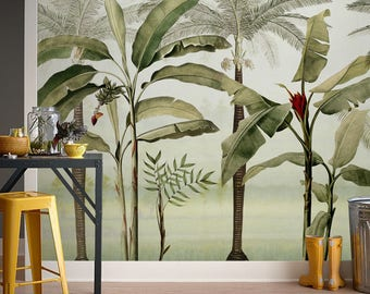 Jungle Whisper Wallpaper 3, Removable Wallpapers   Living Room Wallpaper    Self Adhesive Wall Decal