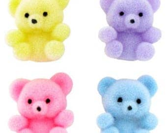 Adorable miniature teddy bear mini teddy for animals, for dolls, for cake toppers, for kids toys!