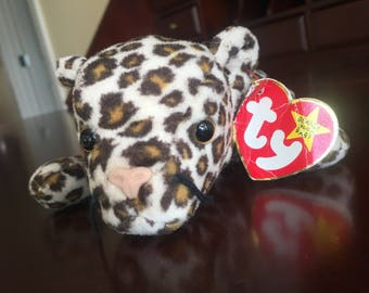 RARE Freckles Beanie Baby 1996