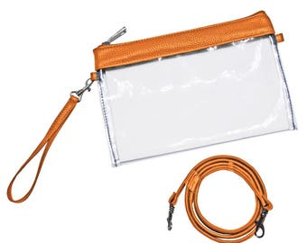 Orange Stadium Purse! Perfect for Clemson Games. Monogramming Available!!