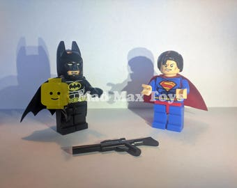 Batman v Superman Lego Compatible Minifigure Pack