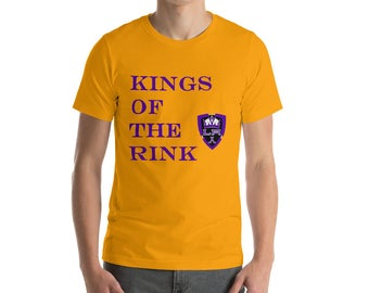 Kings Of The Rink LA Knigs Hockey Short-Sleeve mens T-Shirt