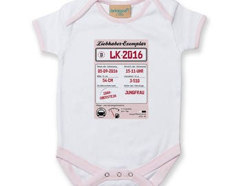 Babysuit (personalized)-Girl