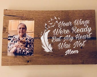 Remember your loved one with this custom made memory plaque