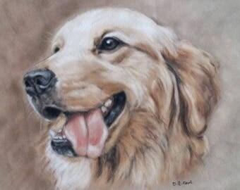 Golden Retriever - Retriever Wall Art - Retriever print - Dog Gift - Dog Picture - Dog Print - Retriever Picture - Dog Art - Dog Lover Gift
