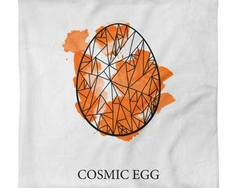Cosmic Egg Square Pillow Case only
