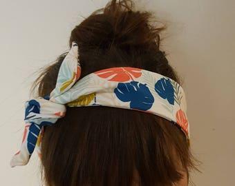 "headband tie ""exotic"" woman"