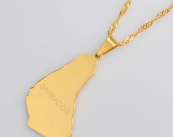 Golden Barbados Necklace