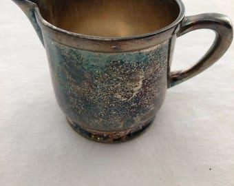 Vintage Nickel Silver Cup