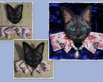 Brooch Cat