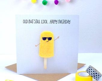 Ice Lolly Birthday Card