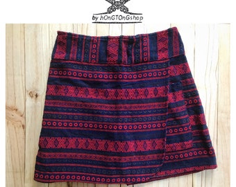 Unique Naga tribes skorts/Hill tribe woven skorts/Ethnic festival skorts/Boho skorts/Festival pants/Tribal woven skorts/Hippie clothing