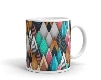 Pastel Mountains Mug