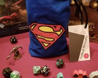 Superman Dice bag