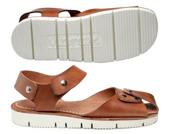 HIRA (hirazutsumi) hand made Men sandals